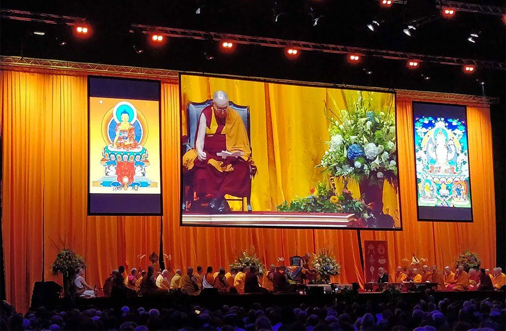 Dalai Lama in Ahoy Rotterdam